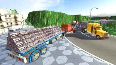 Uphill Cargo Truck Driving 3D - Drive Cargo Truck And Oil Tanker in Offroad & City Environment screenshot three