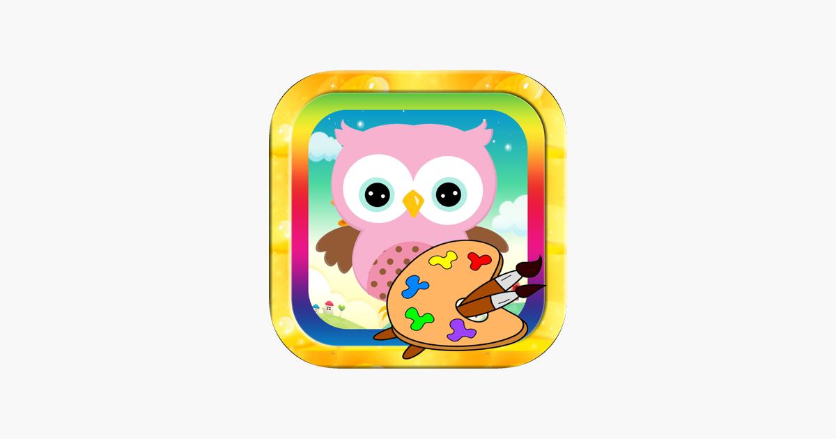 Cocuklar Icin Bebek Hayvan Cizgi Film Boyama Kitab App Store Da