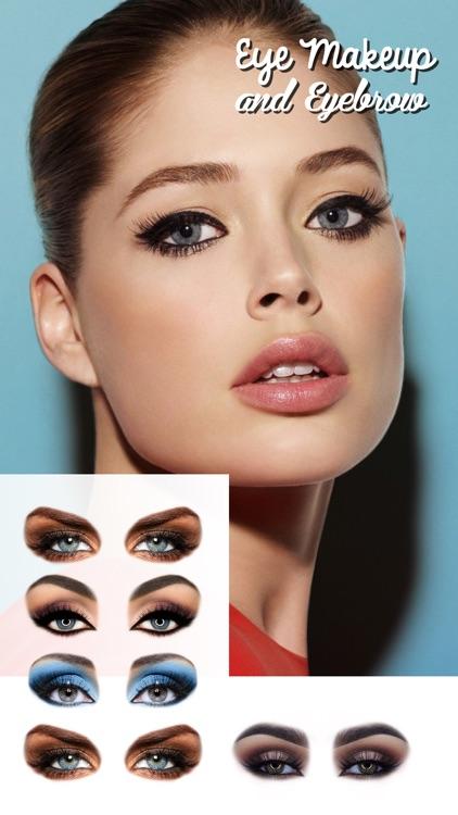 Eye Makeup and Eyebrows Editor screenshot-3