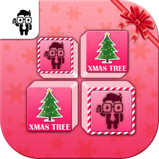 Match Christmas Card Kids Game