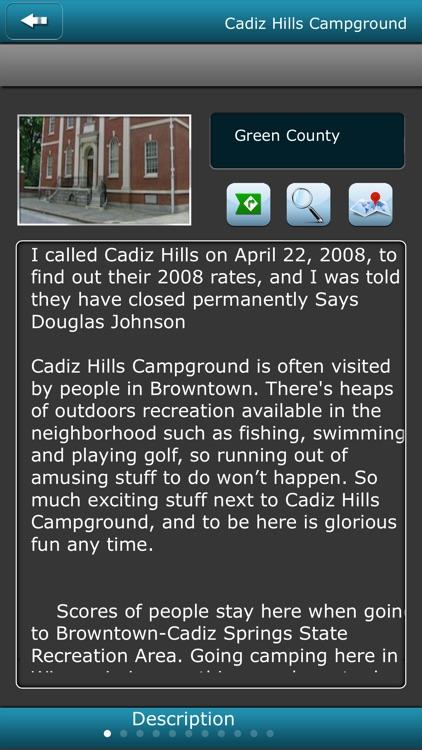 Wisconsin Campgrounds screenshot-3