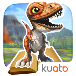 Ícone do app Dino Tales – literacy skills from creative play