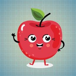 Sticker Me: Fruit Family
