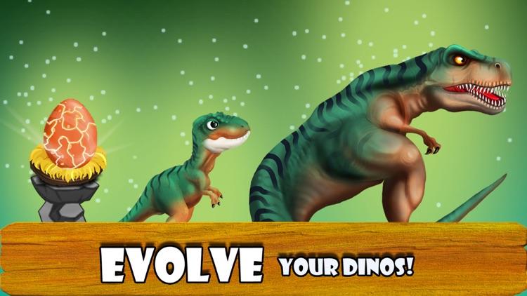DINO WORLD - Jurassic Dinosaur Fighting games screenshot-4