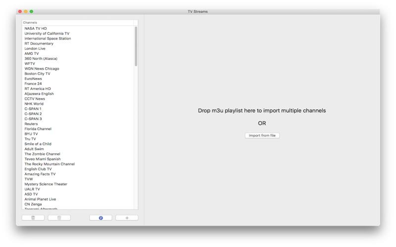 TV Streams 4.1 Mac 破解版 – 专业的网络电视应用-麦氪派