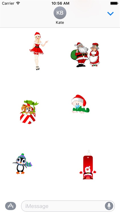 HD Christmas Stickers screenshot-3
