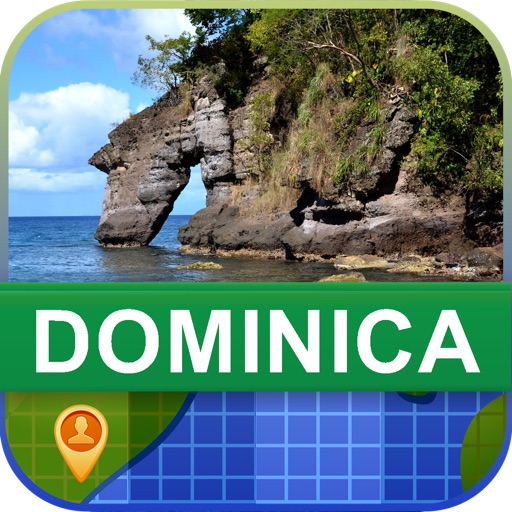 Offline Dominica Map - World Offline Maps