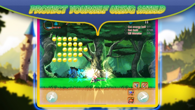 Super sword fighter heroes – to  face dragons of the bamboo forest - feet of fury screenshot-4