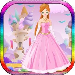 Free Magic Princess Coloring Book for Toddler Girl