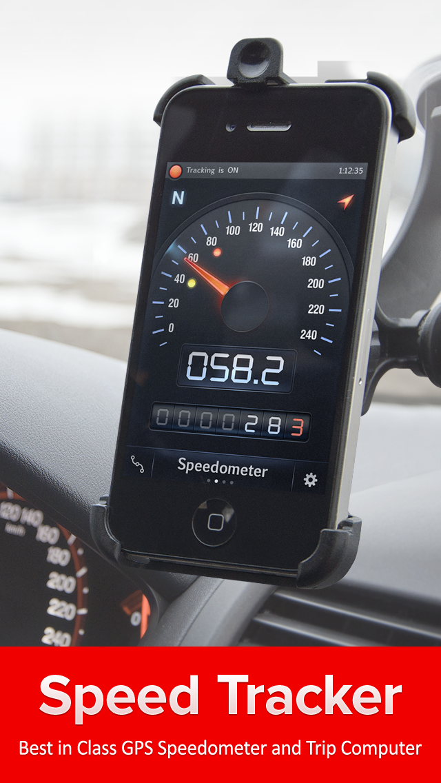 Speed Tracker lite Screenshot