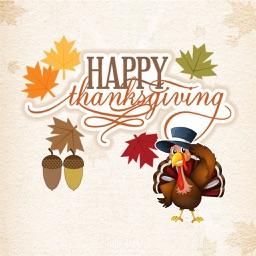 Thanksgiving for iMessage - Fv Sticker