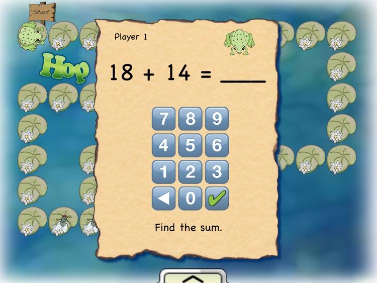 Hop To It Math screenshot-3
