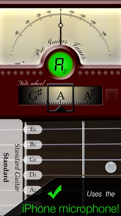 Pro Guitar Tuner - by ProGuitar.com screenshot-0