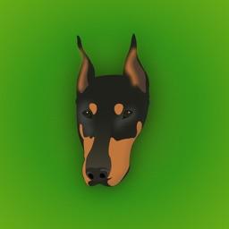 Doberman Pinscher Emoji