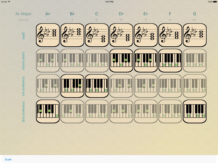Efficient Piano Chord Triads screenshot-4