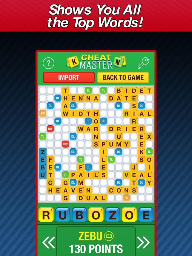 words with friends cheat
