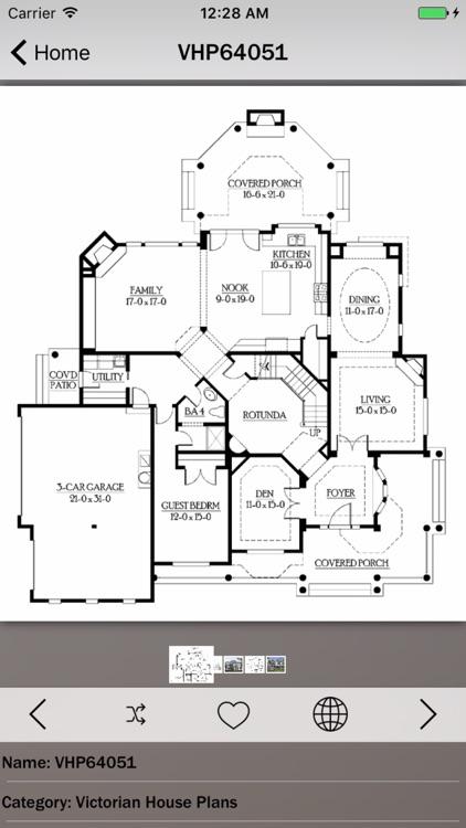 Victorian House Plans Details screenshot-3