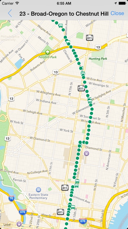 Transit Tracker - Philadelphia (SEPTA) screenshot-2