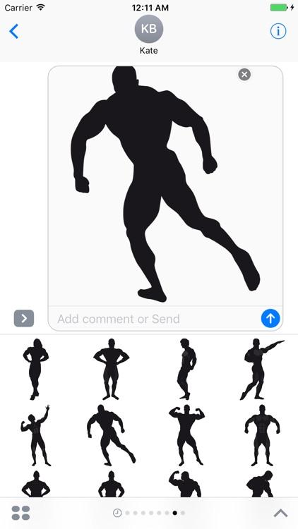Bodybuilding Stickers