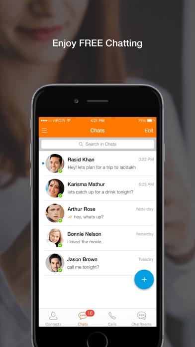 Nimbuzz Messenger screenshot one