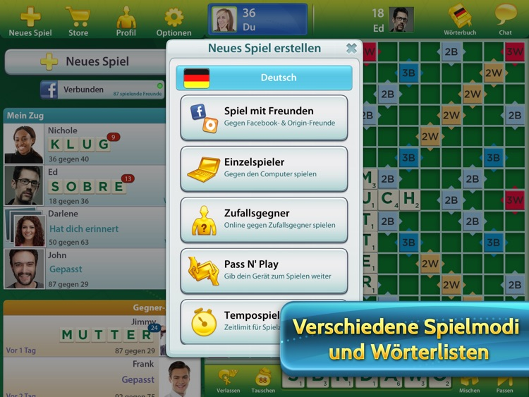 SCRABBLE™ Premium für iPad screenshot-1