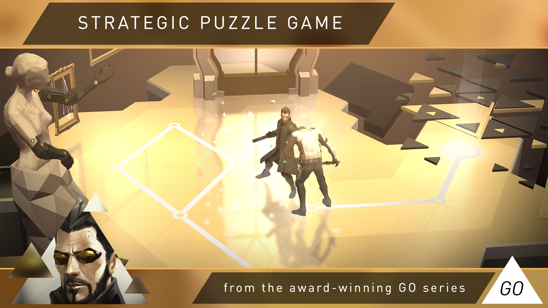 Deus Ex GO screenshot 11