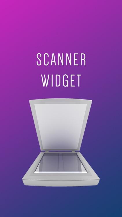 Scanner Widget