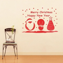 Christmas Holiday Sticker
