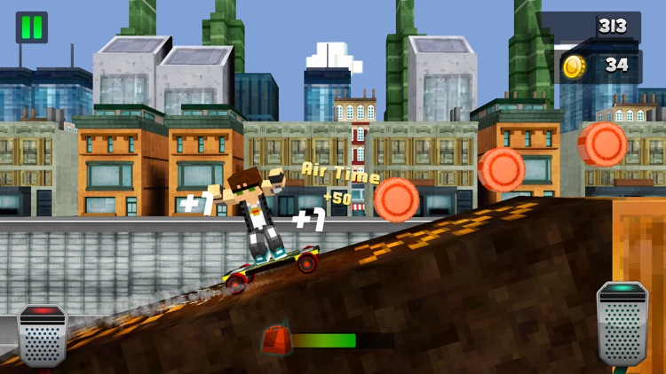 Skate City Adrenaline Race - My Skateboarding Racing Game For Free screenshot-3