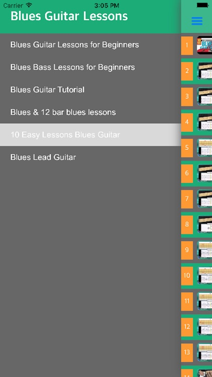 Play Blues Guitar - Learn How To Play Blues Guitar With Videos screenshot-3