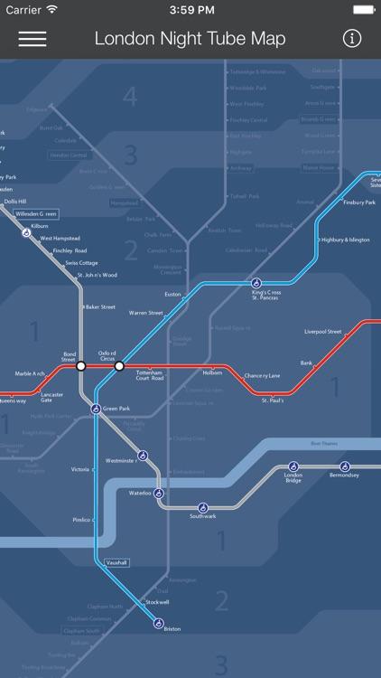London Tube Map - LON screenshot-3