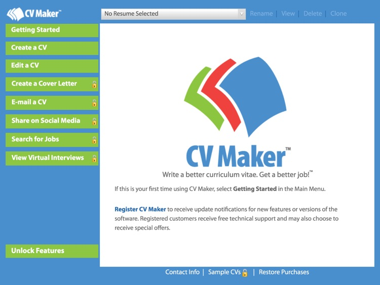 CV Maker™ Free screenshot-0