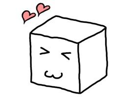 Tofu Character Sticker