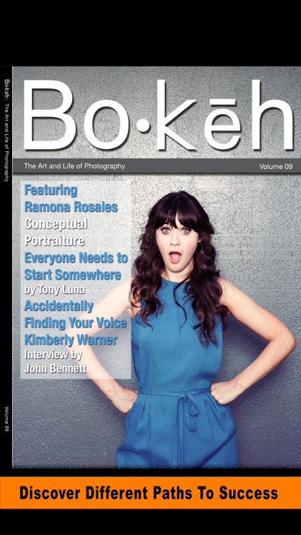Bokeh Digital Photography Magazine Business Tips
