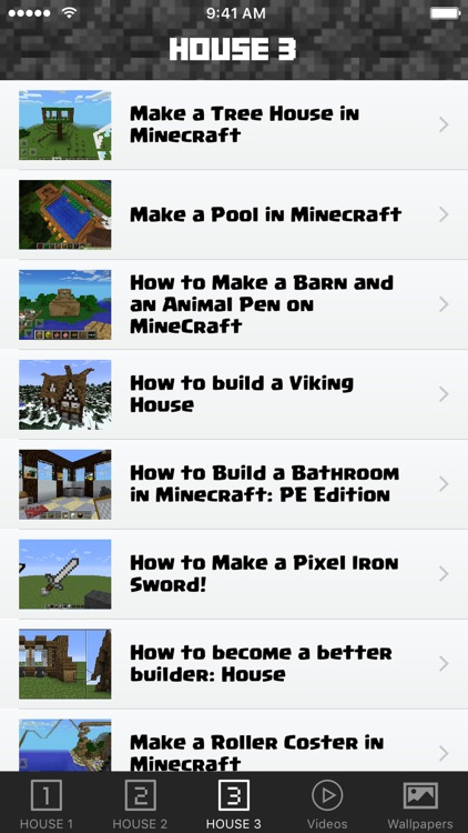 House Guide For Minecraft PE Pocket Edition Free screenshot-3