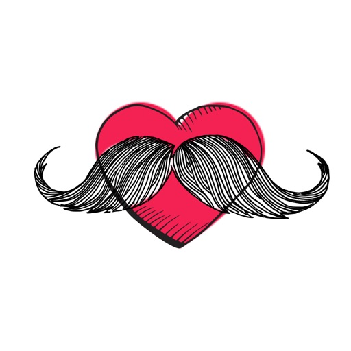 Mr Moustache Stickers Pack