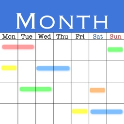 MonCal (Month View Only Calendar)