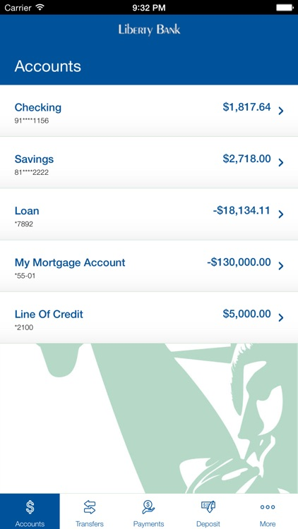 Liberty Bank Mobile Banking screenshot-2