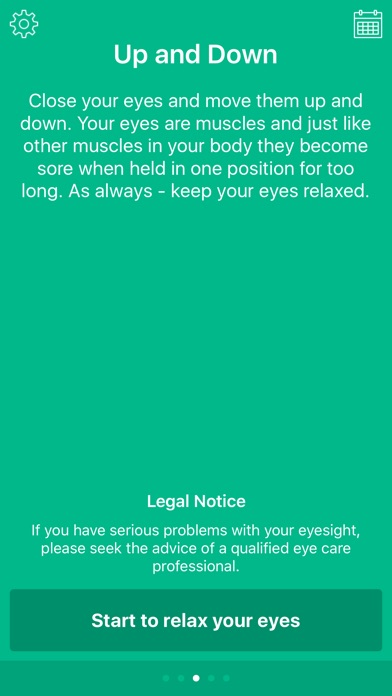 Eye Relax: Exercise eyesight Screenshot