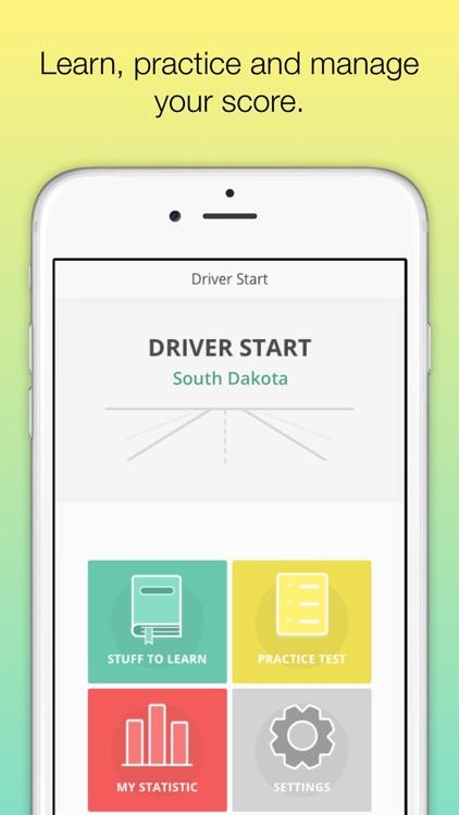 South Dakota DMV - SD Driver Licens knowledge test