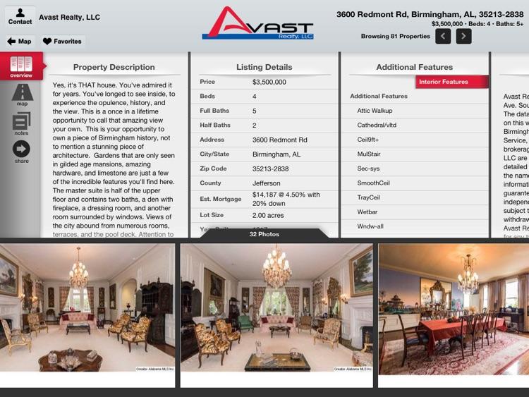 Avast Realty for iPad screenshot-3