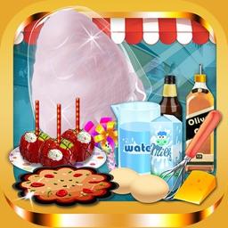 Fair Food Donut Maker - Games for Kids Free
