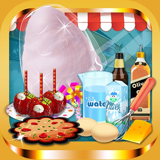 Fair Food Donut Maker - Games for Kids Free