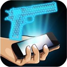 Hologram Gun 3D Simulator