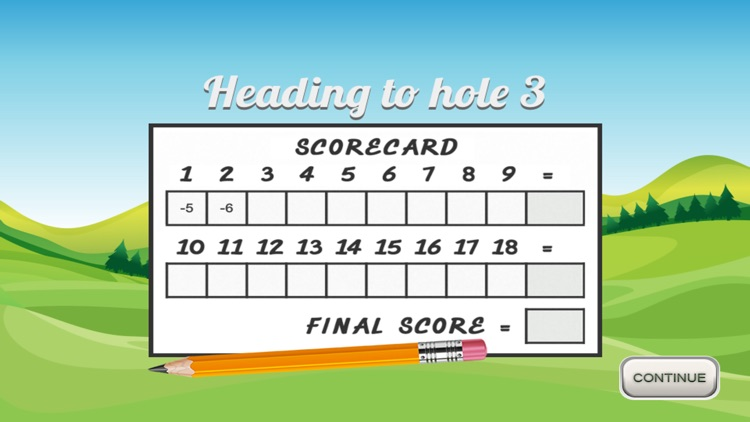 Golf Solitaire 18 screenshot-2