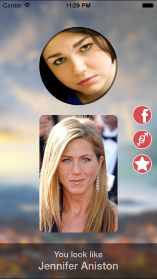 What famous person do you look like? screenshot one