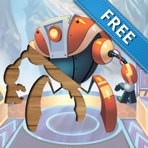 Fantasy Worlds FREE puzzle for kids