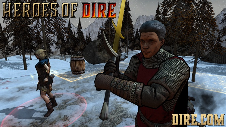 Heroes of Dire screenshot-2
