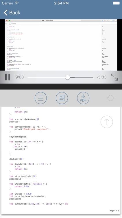 Tutorial for Swift iOS Programming Language v3 screenshot-3