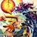 日本の抽象絵画の壁紙